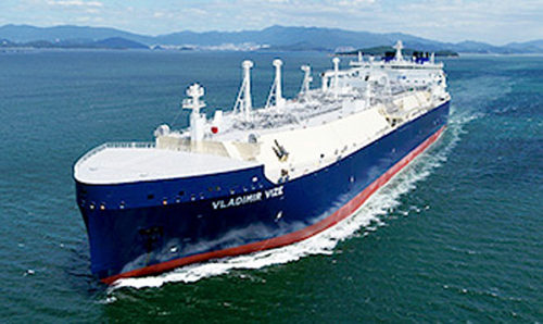 20180912mol1 500x298 - 商船三井/露LNGプロジェクト向け砕氷LNG船、「VLADIMIR VIZE」と命名