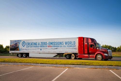 20180918toyota 500x334 - トヨタ自動車/燃料電池技術で「貨物輸送のゼロ・エミッション化」