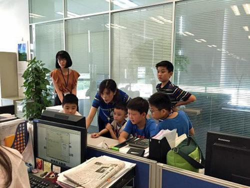 デスクワーク体験(中国)