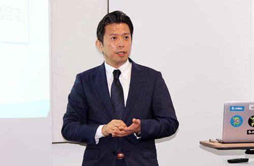 ゼブラ・テクノロジーズ・ジャパンの池田一樹代表