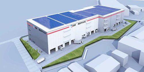 20181004esr1 500x250 - ESR/3PL需要取り込む、千葉県野田市で3.7万m2の物流施設着工