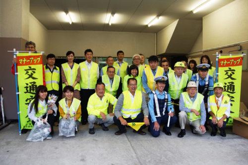 有志社員13名と主催者の集合写真