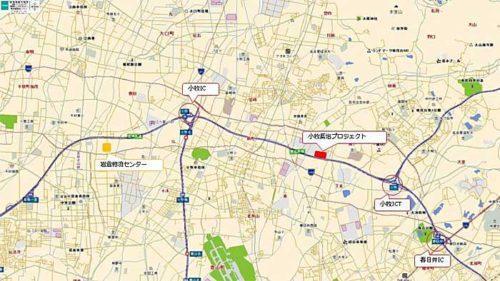 20181005daiwabutsuryu3 500x281 - 大和物流/愛知県小牧市で2棟・3.7万m2の物流施設を建設