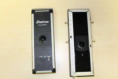(左)小型化したきらりNINJA-DS、(右)従来のきらりNINJA