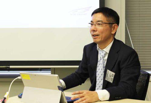 日本郵船・海務グループ ビッグデータ活用チームの山田チーム長