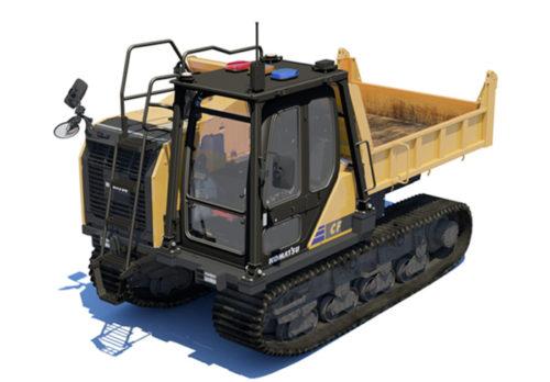 不整地運搬車「クローラダンプCF-1」無人自動運転モデル