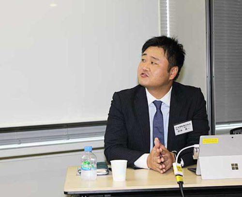 日本郵船・海務グループ機関チームの岩本課長代理