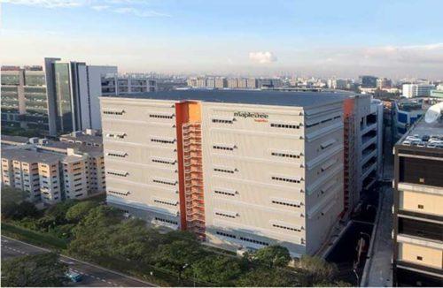 タダノ・シンガポールパーツセンター