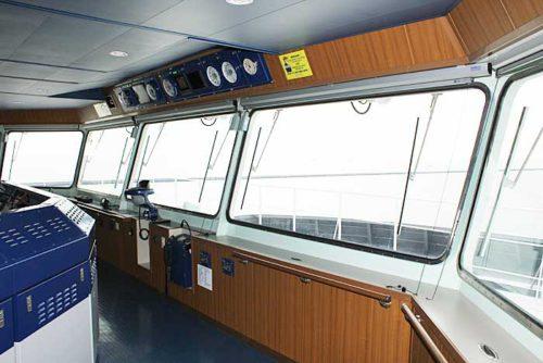 20181024nyk13 500x334 - 日本郵船/最新の情報統合型ブリッジと自動車専用船内部を初公開