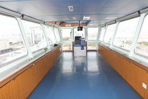 20181024nyk14 500x334 - 日本郵船/最新の情報統合型ブリッジと自動車専用船内部を初公開