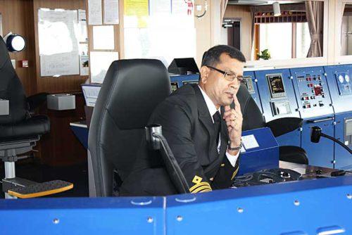 MONOCEROS LEADERのD'Lima船長