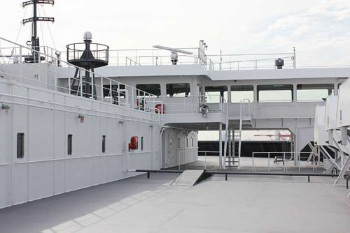 20181024nyk6 500x334 - 日本郵船/最新の情報統合型ブリッジと自動車専用船内部を初公開