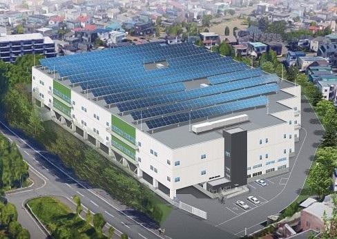(仮称)札幌里塚物流センター・完成予想図