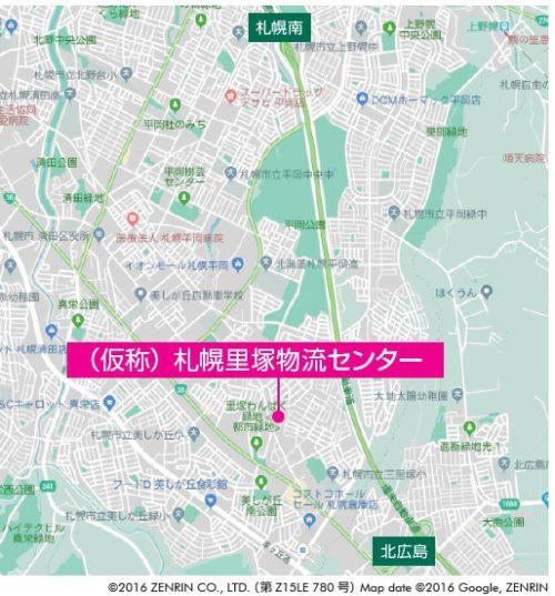 20181026cbre2 500x537 - 札幌市清田区の新物流施設/11月8・9日、竣工前現地内覧会開催
