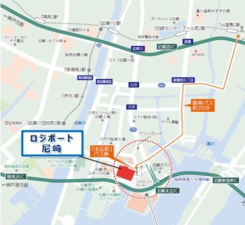 20181030amagasaki5 - 尼崎市の大型物流施設/11月14・15・16日に内覧会