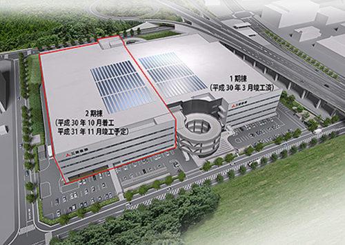 20181030mitsubishis 500x356 - 三菱倉庫/84億円投じ、神戸市の西神配送センター2期棟着工