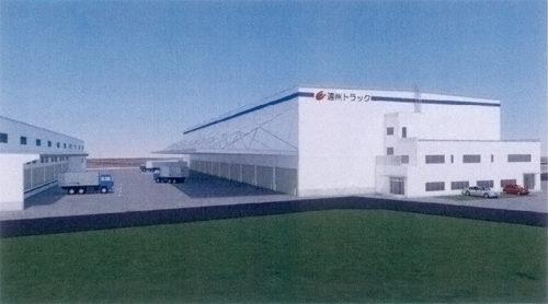 20181107ensyu1 500x278 - 遠州トラック/1万m2の倉庫、浜松市に増設