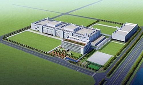 新生産棟・管理棟・エネルギー棟の完成予想図