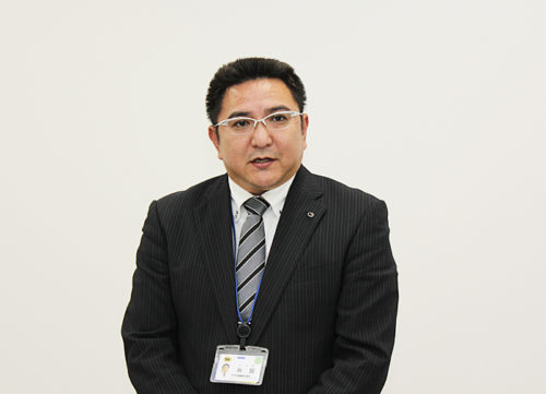 流山主管支店の糸賀支店長