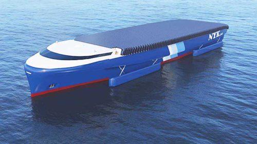 20181114nyk1 500x281 - 日本郵船/船舶のCO2排出ゼロへ、2050年のコンセプトシップ(自動車船)