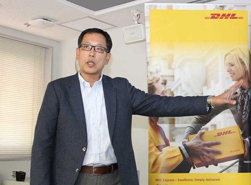 DHLジャパン セールス&マーケティング本部 法人営業第四部の野口部長