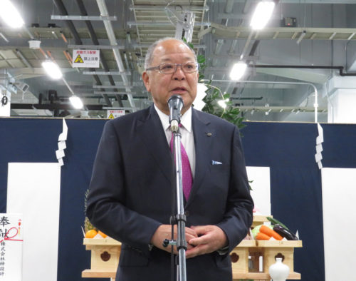 20181115yokorei2 500x394 - ヨコレイ/名古屋市に2万m2の物流センター竣工