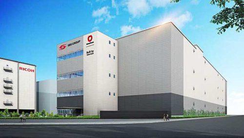 20181116sbs 500x284 - SBSロジコム/大田区に2.6万m2のドライ・定温物流拠点新設