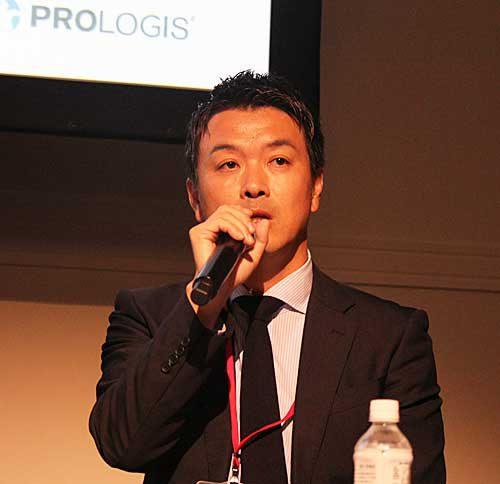 プロロジスの浜野シニアバイスプレジデント・大阪事務所長・営業部副統括部長・開発部長