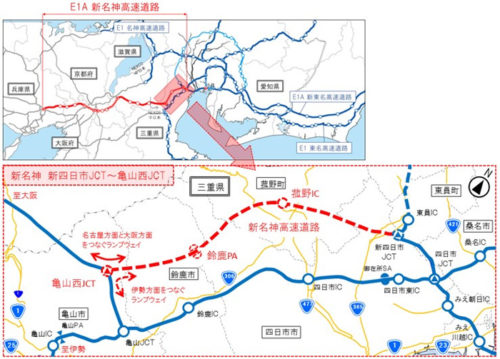 路線概要と工事の進捗状況