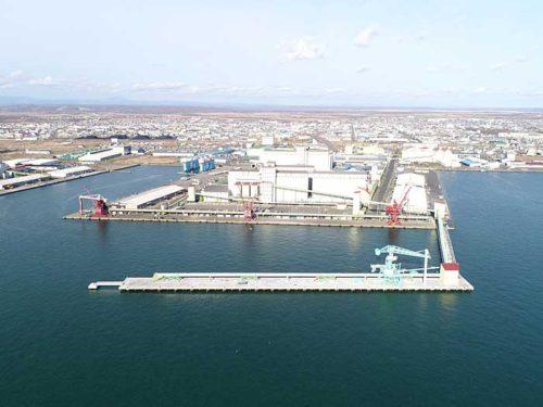 20181127kushirokou1 500x375 - 釧路港/182億円投じ、国際物流ターミナル完成