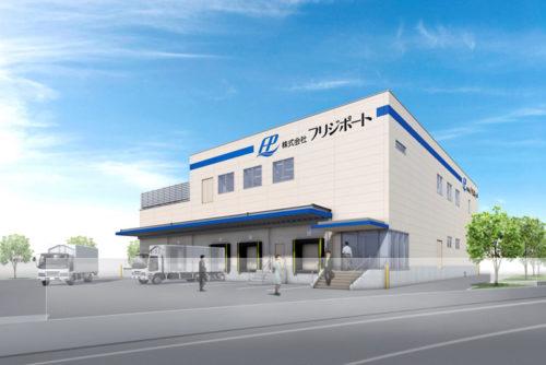 デザート工場(フリジポート 沖縄うるま工場)の外観パース