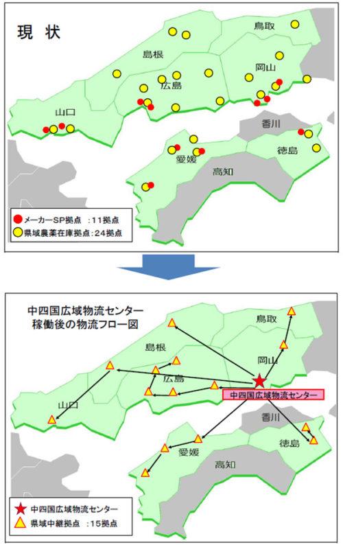 20181130zennou6 500x794 - JA全農/中四国広域物流センター出発式、稼働は12月3日
