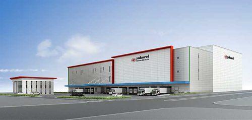 20181203yokorei1 500x238 - ヨコレイ/60億円投じ、茨城県つくば市の圏央道沿線に冷蔵倉庫建設