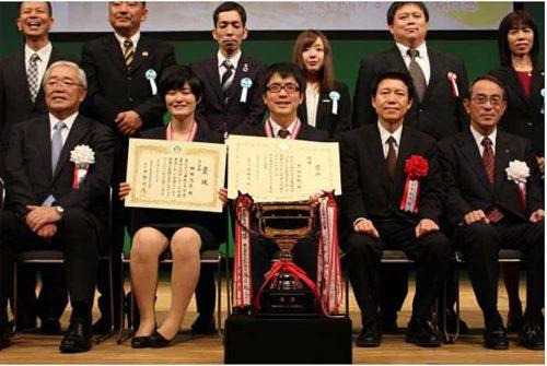 センコービジネスサポートの熊谷さん(前列中央)