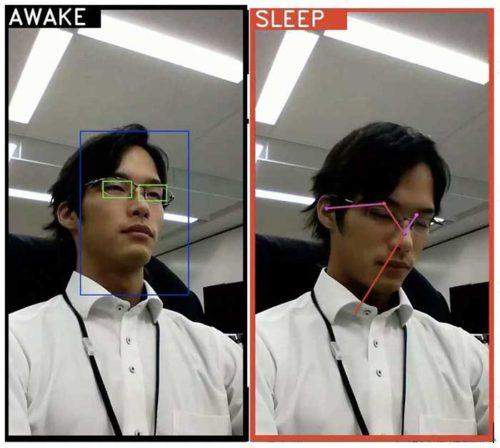 AIによる映像分析イメージ