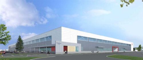 新施設のサンゲツ 北海道ロジスティクスセンター