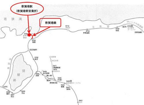 鉄道線路略図