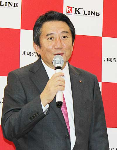 20181221kline2 - 川崎汽船/新社長に明珍 幸一専務が就任