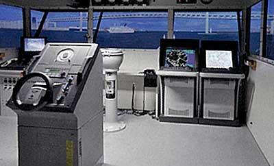 実験で活用した操船リスクシミュレータ