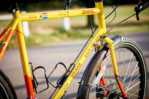 2人がRace to RWCで乗る自転車