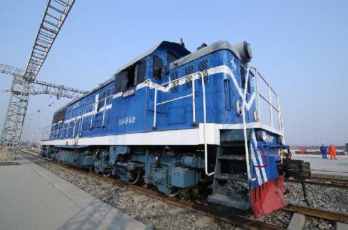 西安駅の専用列車