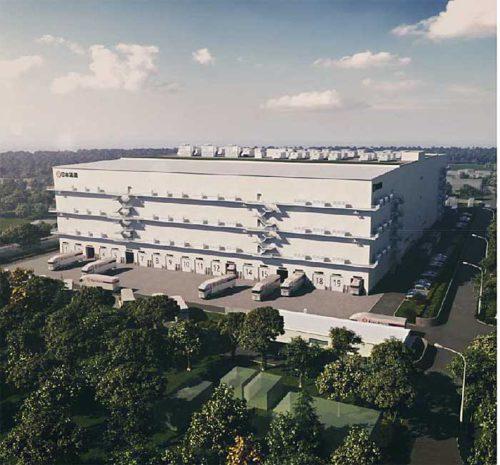 20190108nittsu1 500x465 - 日通/500億円投じ、国内4か所に医薬品専用倉庫建設