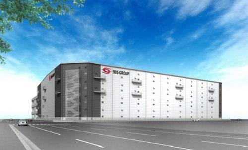 3月に竣工する大阪南港の物流センター