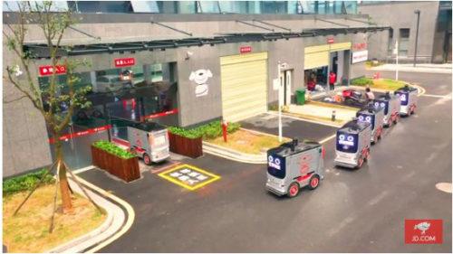 20190109jajapan1 500x281 - 京東集団/中国でラストワンマイル配送にロボット導入