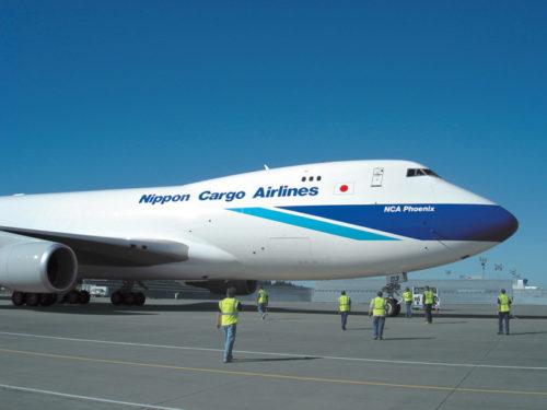 B747-400型貨物専用機