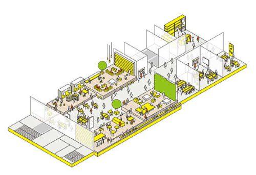 本社ビル5階 講堂イメージ