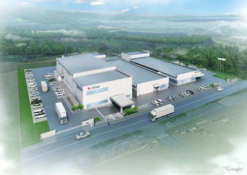 和歌山工場3号館完成予想図