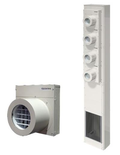 スポット・ゾーン空調システム「FLEXAIR(フレックスエアー)」