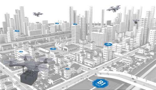 20190122blueinnovation3 500x289 - ブルーイノベーション/物流用ドローンポート、全国で数10~100か所に設置