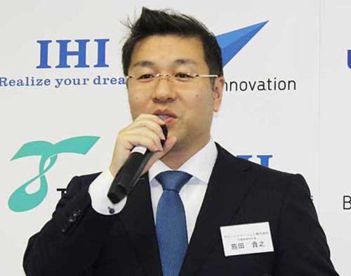 ブルーイノベーションの熊田社長